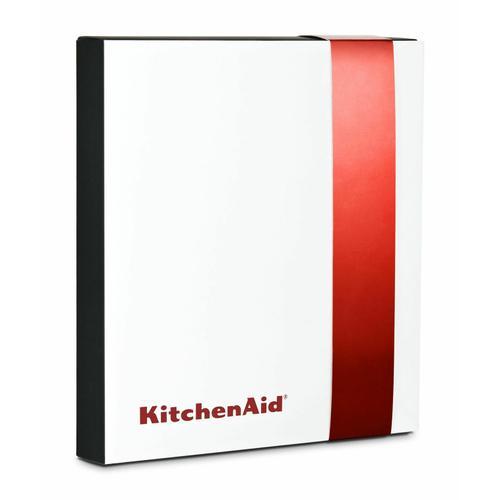 KitchenAid - KitchenAid® Commercial-Style Range Handle Medallion Kit - Red