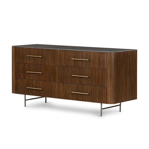 Four Hands - Fletcher 6 Drawer Dresser-bluestone