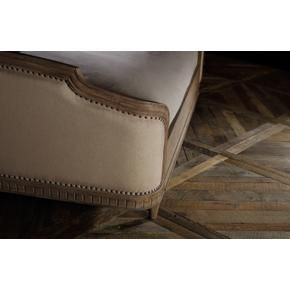 Corsica Queen Upholstery Shelter Bed