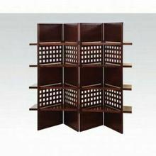 ACME Trudy II 4-Panel Room Divider - 98014 KIT - Dark Brown