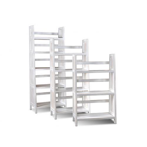 Horizon Home Furniture - Varsity 60'' White Bookcase