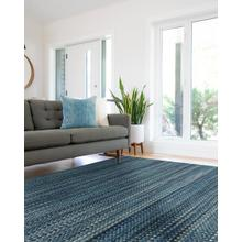 Worthington Lake Blue Flat Woven Rugs