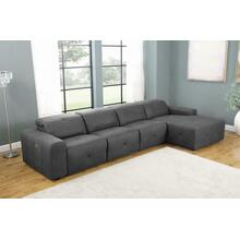 4 PC Power Sectional