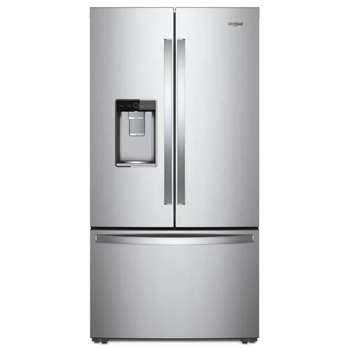 36-inch Wide Counter Depth French Door Refrigerator - 24 cu. ft. Monochromatic Stainless Steel
