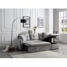 See Details - Clarke Storage Chaise Sleeper Sectional