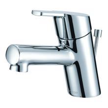 See Details - Chrome Amalfi Single Handle Top Control Lavatory Faucet