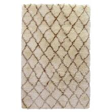 See Details - Diamond Ritz Shag Ivory 8x10