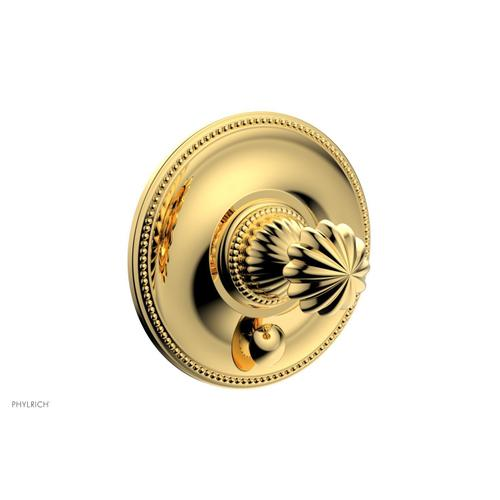 GEORGIAN & BARCELONA Pressure Balance Shower Plate with Diverter and Handle Trim Set PB2361TO - Polished Gold