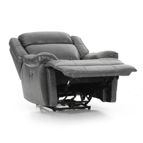 Avalon Dual Power Reclining Chair  Smoke