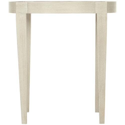 East Hampton End Table in Cerused Linen (395)