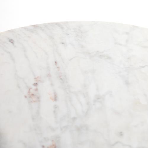 Lennie Round Nightstand-brushed Nickel