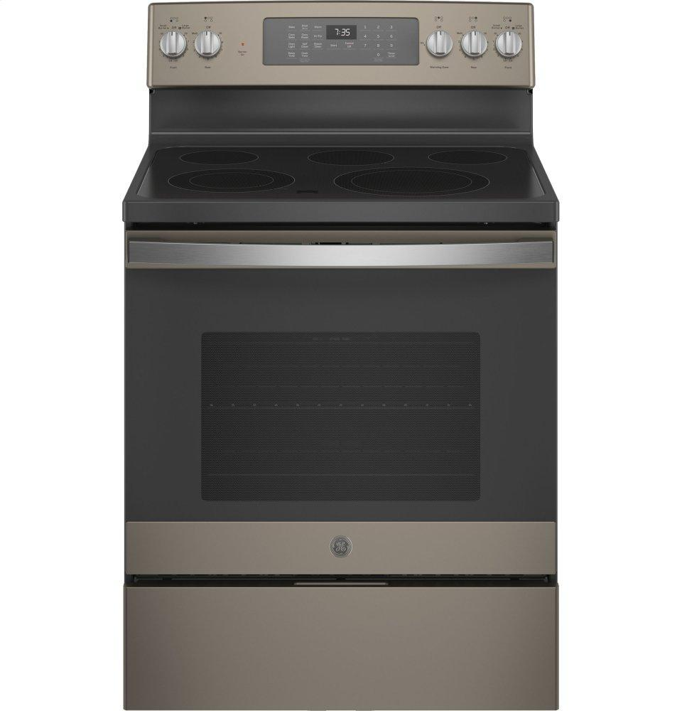 "GE30"" Free-Standing Electric Convection Range With No Preheat Air Fry"