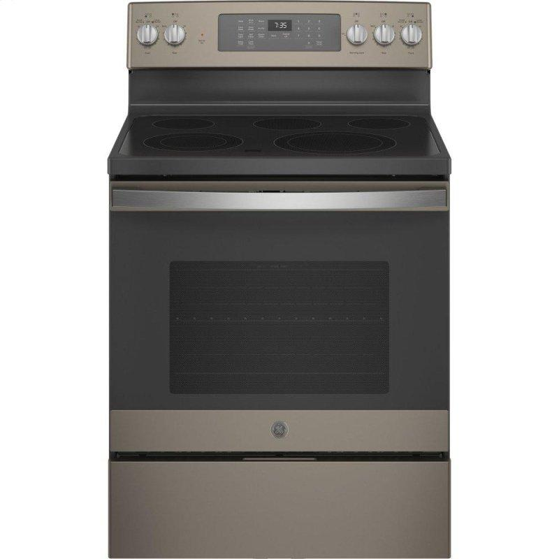 "30"" Free-Standing Electric Convection Range with No Preheat Air Fry"