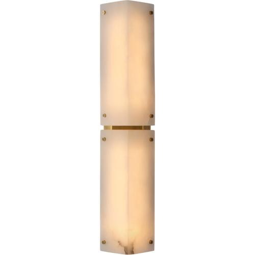 AERIN Clayton LED 6 inch Alabaster Sconce Wall Light