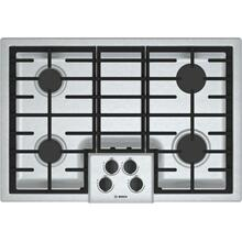 "***ANKENY LOCATION*** 500 Series, 30"" Gas Cooktop, 4 Burners, Stainless Steel OPEN BOX DENT ON SIDE"