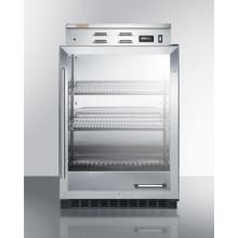 See Details - Single Chamber Warming Cabinet With Glass Door, Stainless Steel Interior, Digital Thermostat, and Lock
