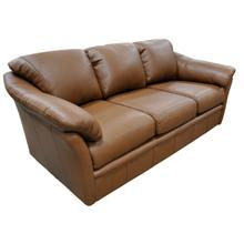 All Leather Ottoman (Available in 26 Different Top Grain Leather Colors!) *Matching Sofa Pictured*