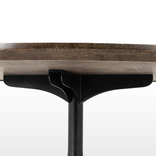 """English Brown Oak Finish 71"""" Size Powell Dining Table"""