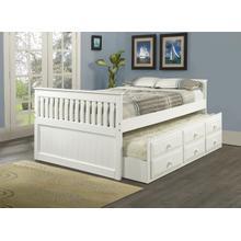 Gabrielle Full Captain's Bed