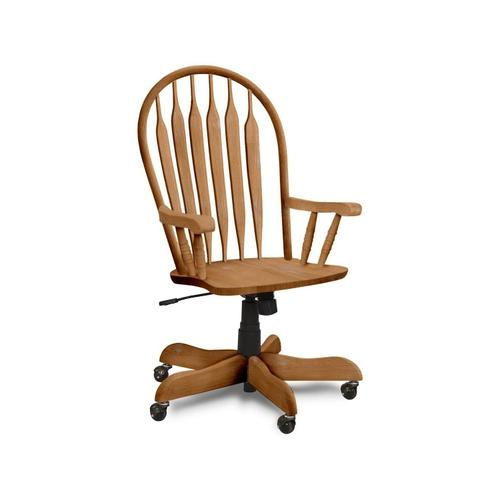 John Thomas Furniture - Deluxe Steambent Windsor Arm Chair