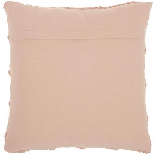 """Kathy Ireland Pillow Aa242 Blush 18"""" X 18"""" Throw Pillow"""