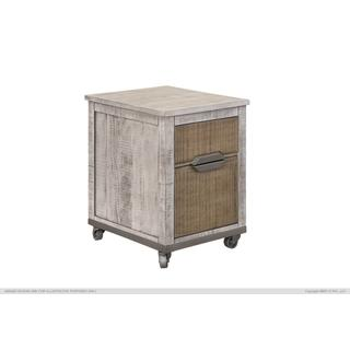See Details - 2 Drawers, File Cabinet w/Iron Base