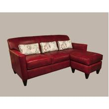 View Product - Essentially Yours (Leather) Chaise Ottoman