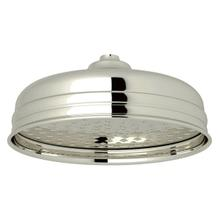 8 Inch Rain Showerhead - Polished Nickel