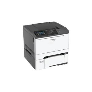 40 ppm B&W and Color Desktop Printer