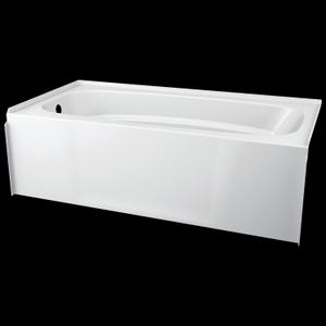 White ProCrylic 60 in. x 30 in. Left Hand Tub Product Image