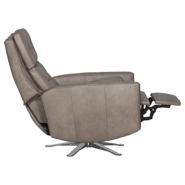 See Details - Loft Manual Push Back Swivel Recline with Five Prong Base