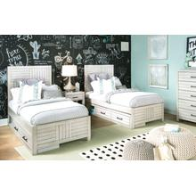 Summer Camp - White Panel Bed, Twin