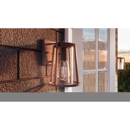 Quoizel - Brockton Outdoor Lantern in Rustic Black