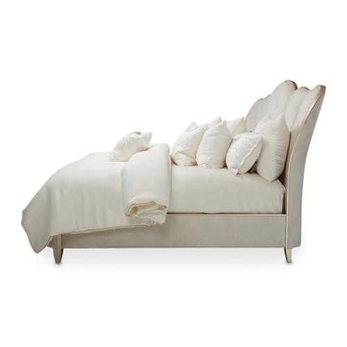 Product Image - Queen Channel-tufted Upholstered Bed (3 Pc)