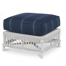 Mainland Wicker Ottoman
