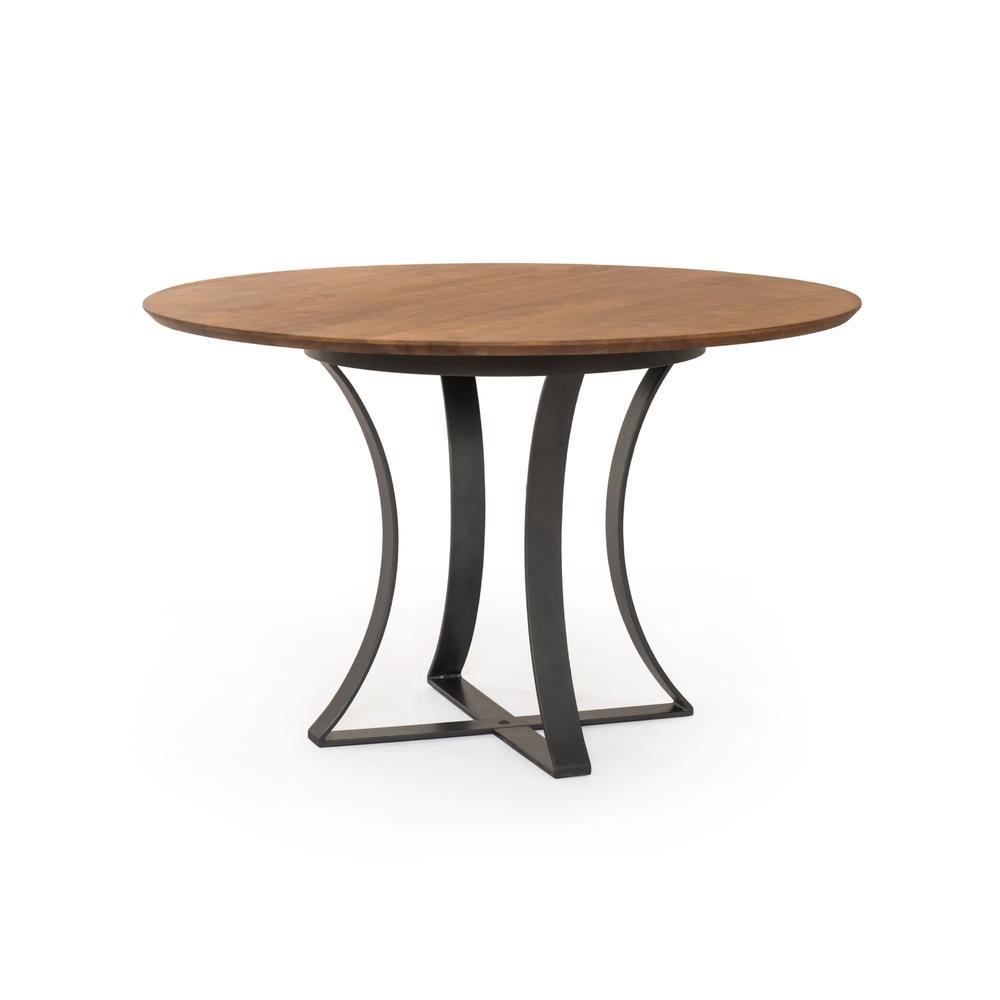 "Light Acacia Finish 48"" Size Gage Dining Table"