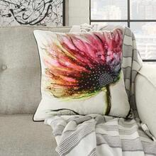 "Luminescence Pn105 Multicolor 18"" X 18"" Throw Pillow"