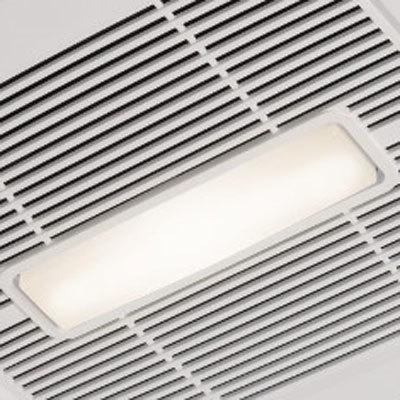 Broan AE50110DCL Flex DC Series Bathroom Ventilation Fan with LED
