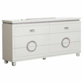 ACME Vivaldi Dresser - 20245 - White High Gloss