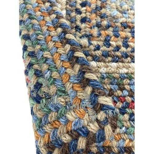Bear Creek Misty Blue Braided Rugs