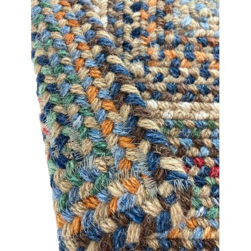 Bear Creek Misty Blue Braided Rugs (Custom)