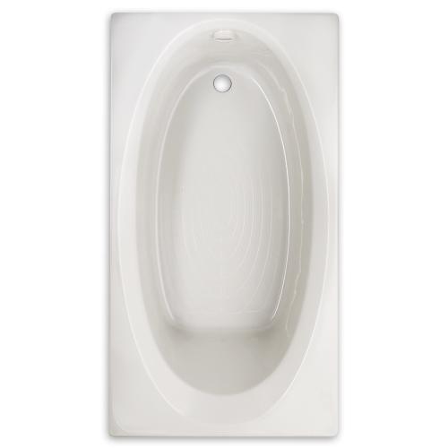 Evolution 66x36 inch Oval Bathtub - White