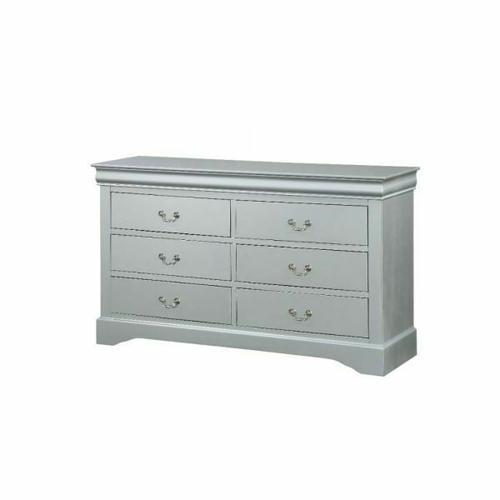 ACME Louis Philippe Dresser - 26735 - Platinum