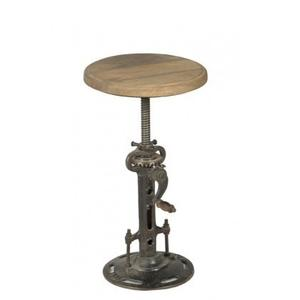 Industrial Adjustable Crank Stool