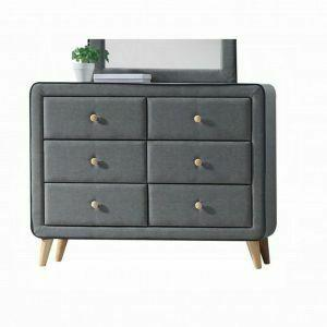 ACME Valda Dresser - 24525 - Light Gray Fabric