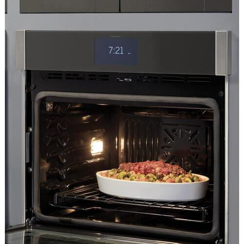 "GE Profile™ 30"" Smart Built-In Convection Single Wall Oven with In-Oven Camera and Air Fry"
