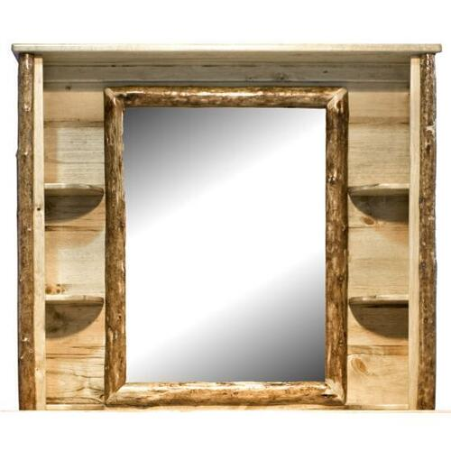 Glacier Country Collection Deluxe Dresser Mirror