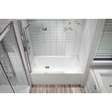 Flory De Colt Bathtub With Integrated Tiling Flange and Integrated Skirt 5'
