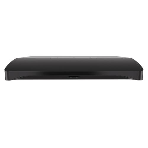Broan® Elite 36-Inch Convertible Under-Cabinet Range Hood, Black