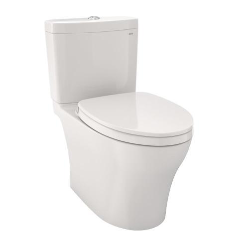 Aquia® IV - 1G - Toilet - 1.0 GPF / 0.8 GPF - with Seat - Colonial White